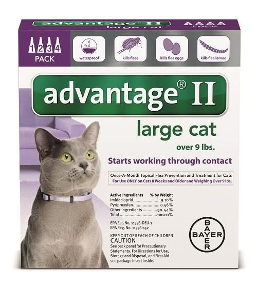 Advantage 2 Bayer Advantage 2 Cat Flea Prevention & Treatment, 9#+