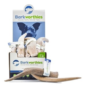 Barkworthies Barkworthies Deer Antler, Extra Large Split, 7-8 inch long