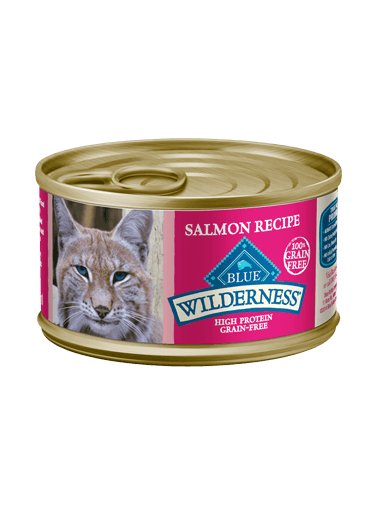 Blue Buffalo Blue Wilderness Salmon Recipe, 5.5 oz can