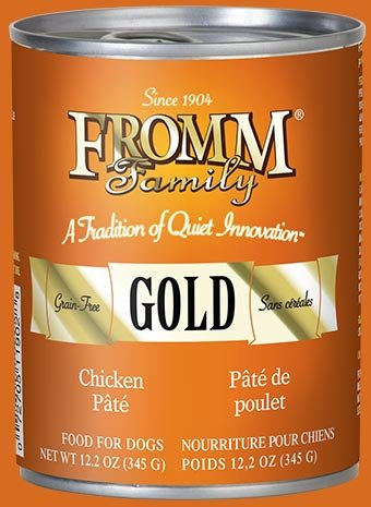 Fromm Fromm Gold Chicken Pate Canned Dog Food, 12oz can