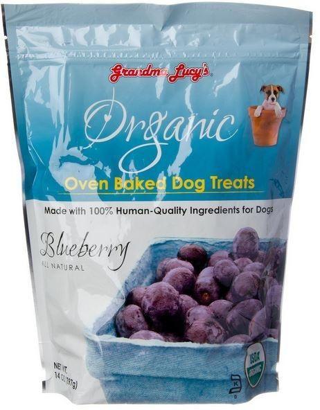 Grandma Lucy's Grandma Lucy's Organic Blueberry Treats, 14 oz bag