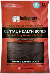 Indigenous Indigenous Dental Health Bones - Smoked Bacon Flavor