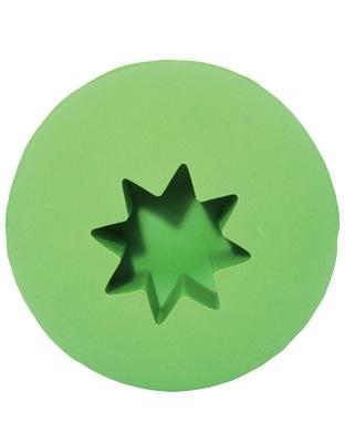 "Simply Fido Simply Fido Rubb ""N"" Roll Treat Ball - Green"