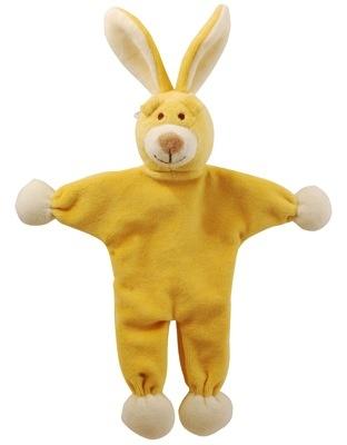 "Simply Fido Simply Fido Lucy 9"" Yellow Bunny Stuffless"