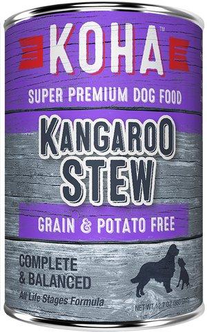Koha Koha Kangaroo Stew Canned Dog Food, 12.7 oz can