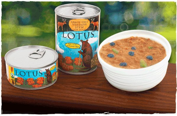 Lotus Lotus Venison Stew Grain-Free Canned Dog Food, 12.5 oz can