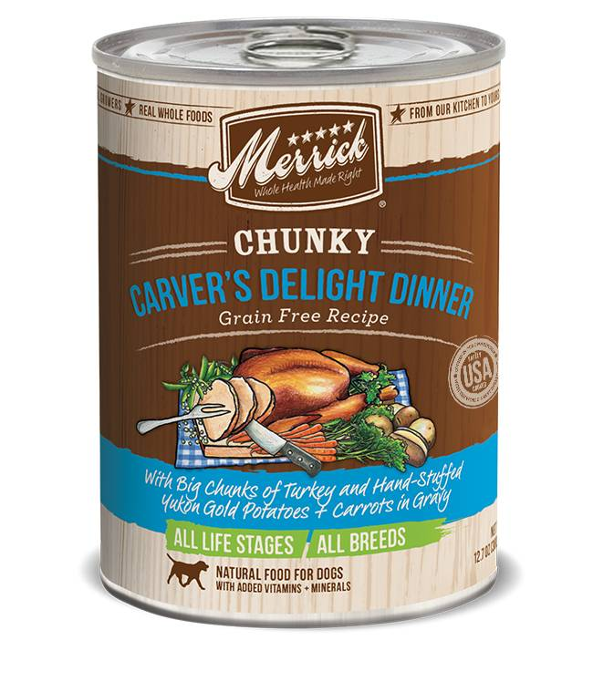 Merrick Merrick Carver's Delight Dinner Dog Food, 12.7 oz can