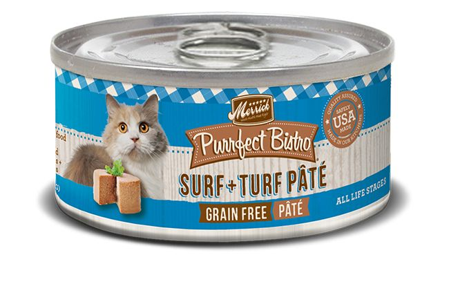 Merrick Merrick Purrfect Bistro Surf & Turf Pate, 5.5 oz can