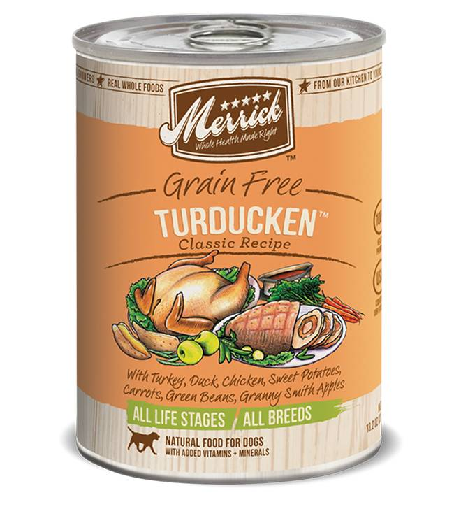 Merrick Merrick Turducken Dog Food, 13.2 oz can