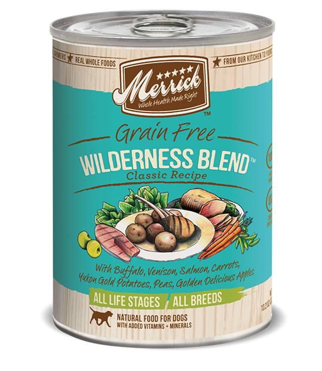 Merrick Merrick Wilderness Blend Dog Food, 13.2 oz can
