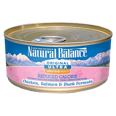 Natural Balance Natural Balance Chicken, Salmon, and Duck Formula Cat Can Food, 6 oz can