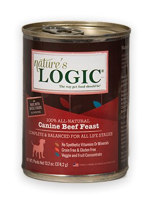 Nature's Logic Nature's Logic Beef Canned Dog Food, 13.2 oz
