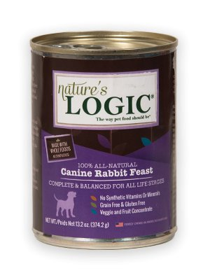 Nature's Logic Nature's Logic Rabbit Canned Dog Food, 13.2 oz