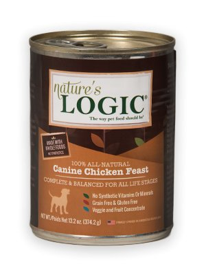 Nature's Logic Nature's Logic Chicken Canned Dog Food, 13.2 oz