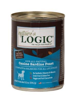 Nature's Logic Nature's Logic Sardine Canned Dog Food, 13.2 oz