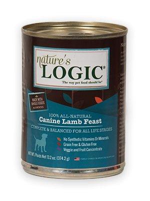 Nature's Logic Nature's Logic Lamb Canned Dog Food, 13.2 oz