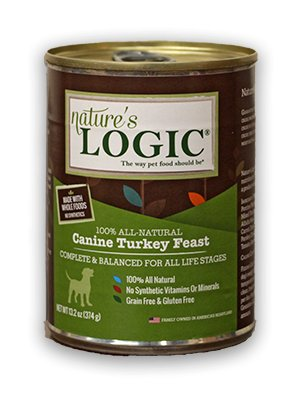 Nature's Logic Nature's Logic Turkey Canned Dog Food, 13.2 oz