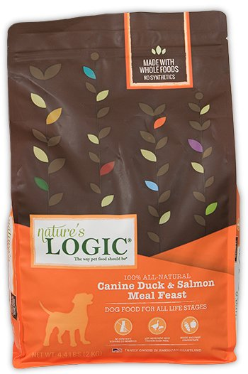 Nature's Logic Nature's Logic Canine Dry Dog Food, Duck & Salmon, 4.4# bag