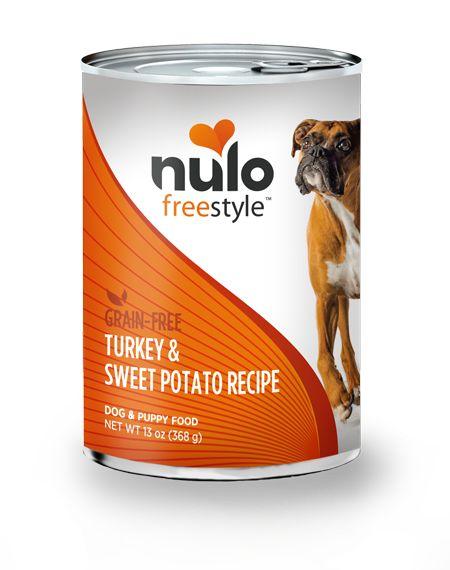 Nulo Nulo Freestyle Turkey & Sweet Potato Canned Dog Food, 13 oz can