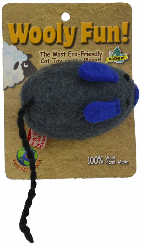 One Pet Planet One Pet Planet Wooly Fun Big Mouse