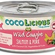 Party Animal Party Animal Cocolicious Wild Caught Salmon and Pork Cat Can Food, 5.5 oz can