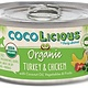Party Animal Party Animal Cocolicious Organic Turkey & Chicken Cat Can Food, 5.5 oz can