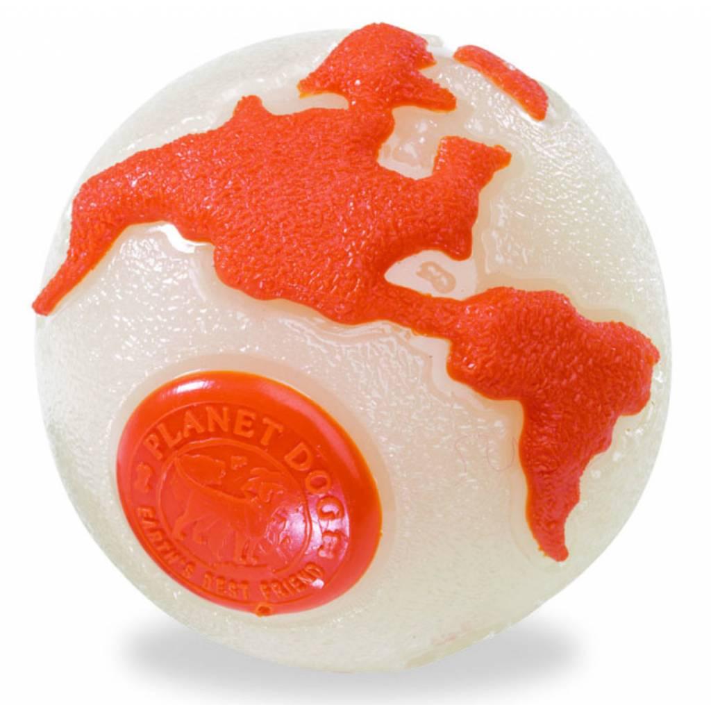 Planet Dog Planet Dog Orbee Ball Tuff Glow/Orange Medium