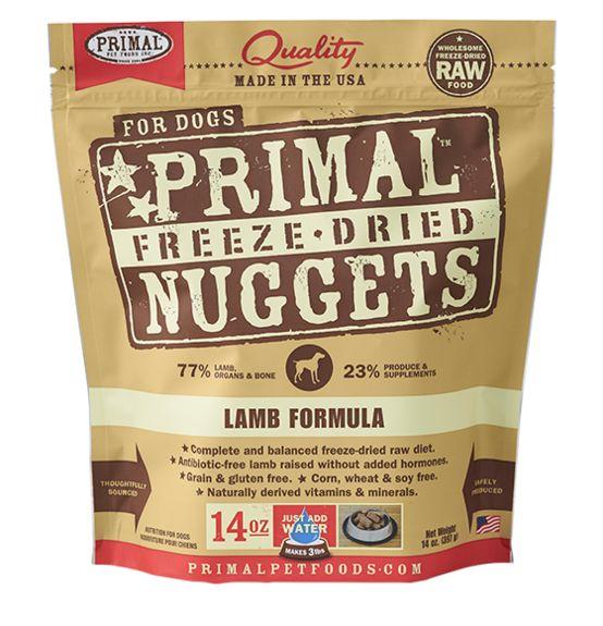 Primal Primal Freeze Dried Dog Food, Lamb, 14 oz bag
