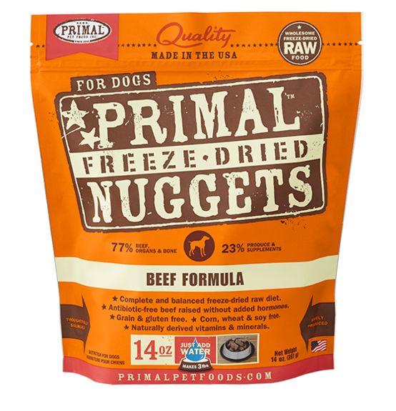 Primal Primal Freeze Dried Dog Food, Beef, 14 oz bag