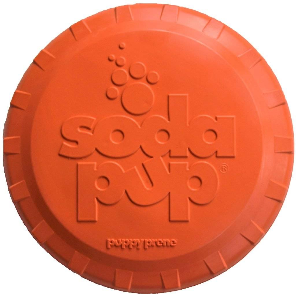 SodaPup SodaPup Bottle Top Flyer Dog Toy