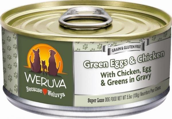Weruva Weruva Dog Green Eggs & Chicken, 5.5 oz can