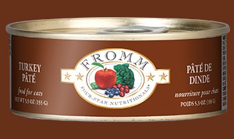Fromm Fromm Turkey Pate Cat Can Food, 5.5 oz can