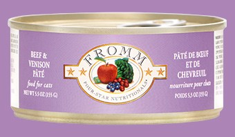 Fromm Fromm Beef & Venison Pate Cat Can Food, 5.5 oz can