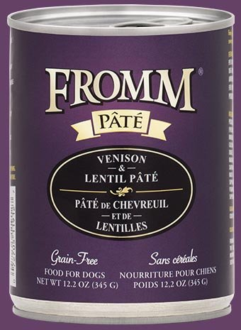 Fromm Fromm Four-Star Venison & Lentil Canned Dog Food, 12 oz can
