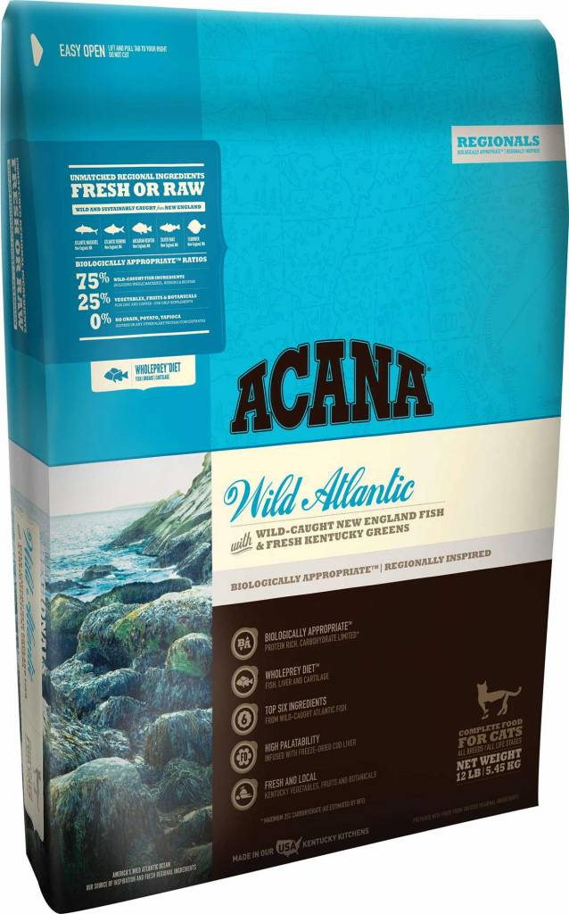Acana Acana Feline Wild Atlantic, 4# bag