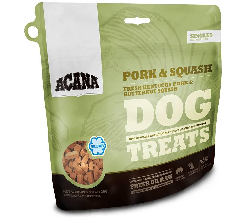 Acana Acana Pork & Squash Dog Treat, 3.25 oz bag
