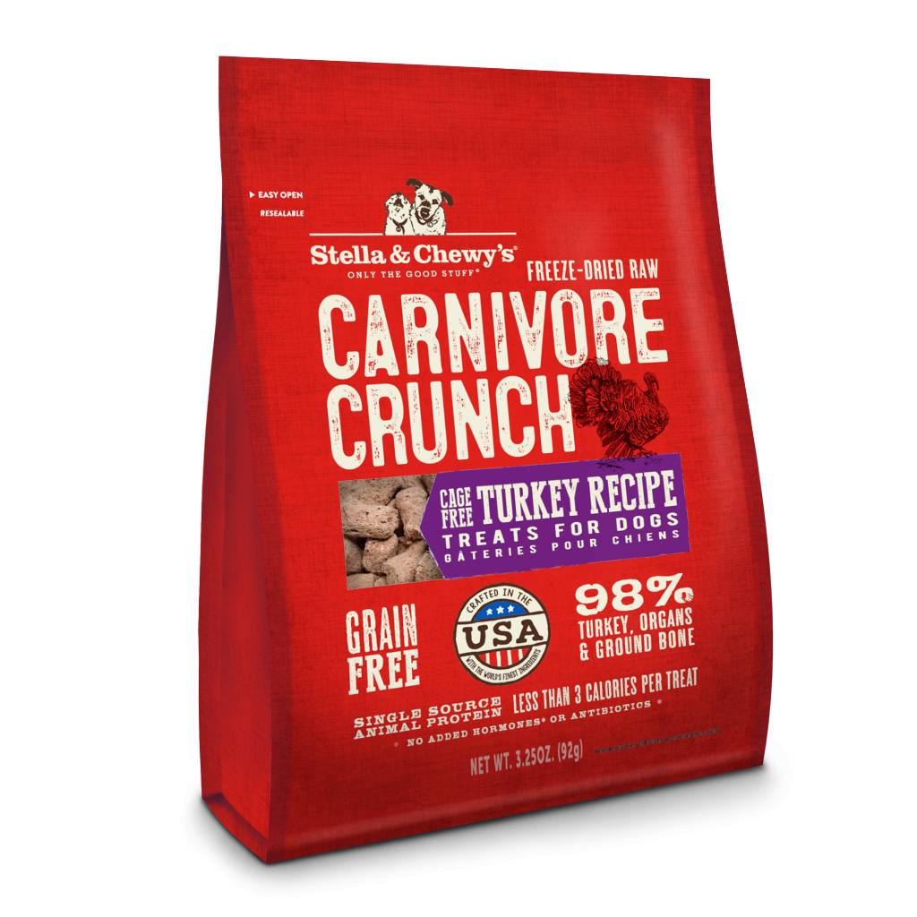 Stella & Chewy Stella & Chewy's Carnivore Crunch Turkey 3.25 oz bag