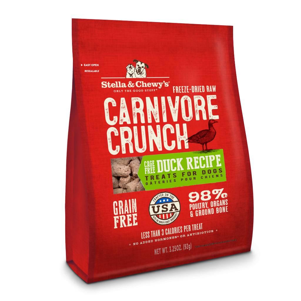 Stella & Chewy Stella & Chewy's Carnivore Crunch Duck 3.25 oz bag