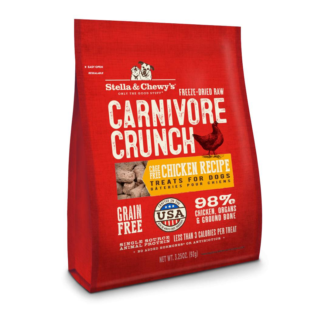 Stella & Chewy Stella & Chewy's Carnivore Crunch Chicken 3.25 oz bag