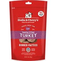 Stella & Chewy Stella & Chewy's Turkey Dinner Freeze-Dried Dog Food, 15 oz bag