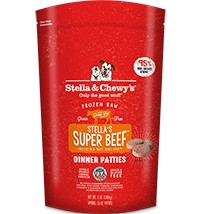 Stella & Chewy Stella & Chewy's Stella's Super Beef Dinner Patties Frozen Raw Dog Food 3 lb bag
