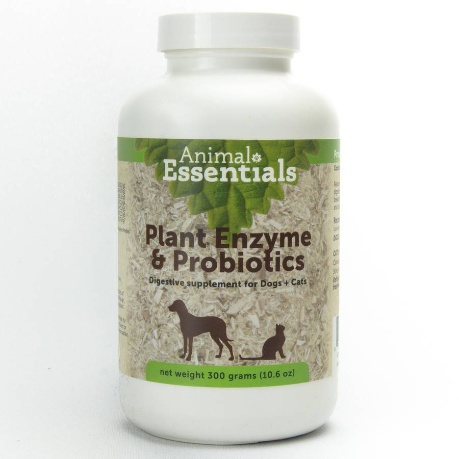 Animal Essentials Animal Essentials Plant Enzymes & Probiotics, 10.6 oz / 300 Gram Bottle