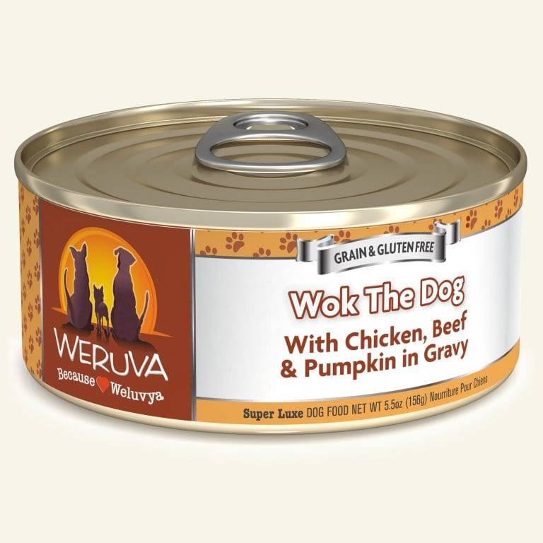 Weruva Weruva Dog Wok the Dog, 5.5 oz can