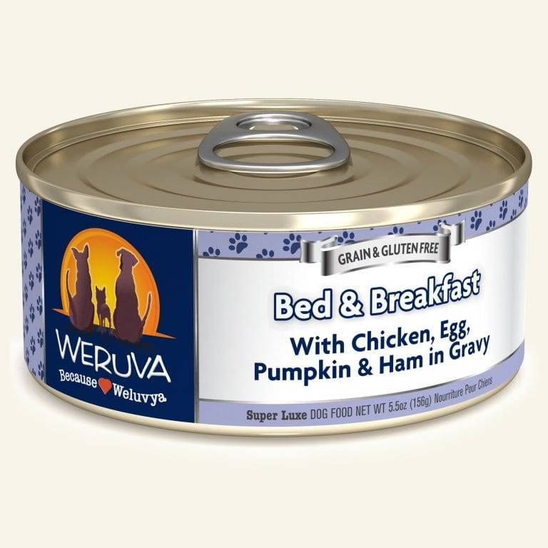 Weruva Weruva Dog Bed & Breakfast, 5.5 oz can