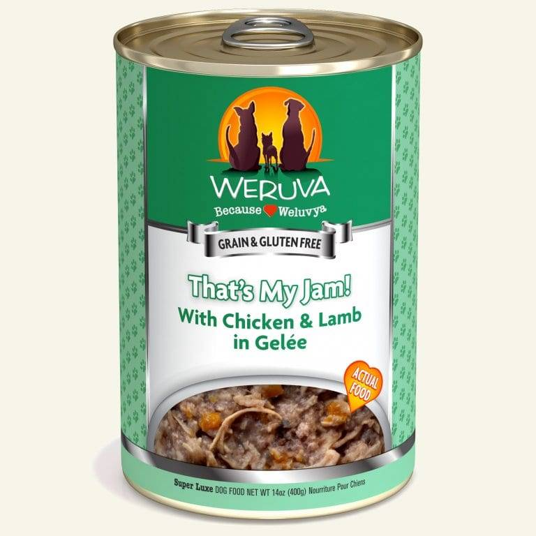 Weruva Weruva Dog That's My Jam! with Chicken & Lamb, 14 oz can