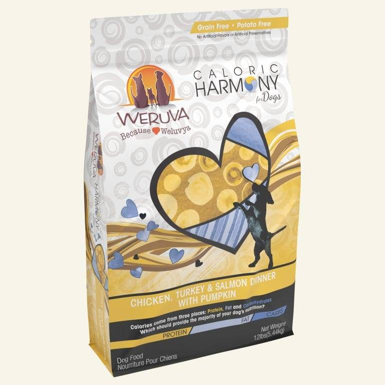 Weruva Weruva Caloric Harmony Dry Dog Food Chicken, Turkey & Salmon Dinner With Pumpkin