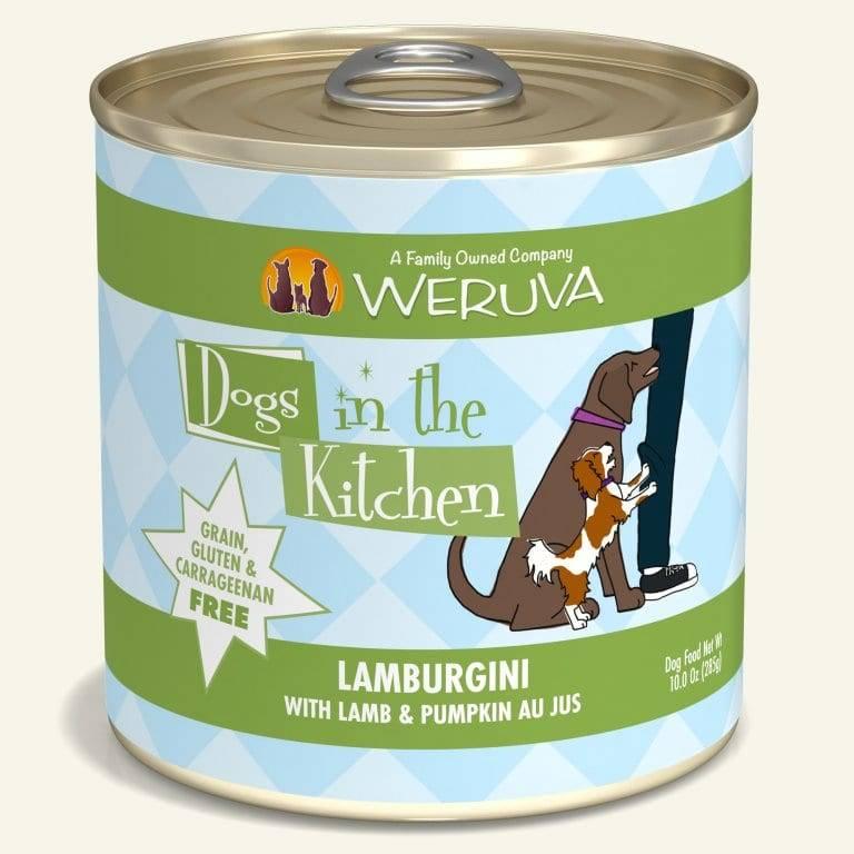Weruva Weruva Dogs in the Kitchen Lamburgini with Lamb & Pumpkin Canned Dog Food, 10 oz can