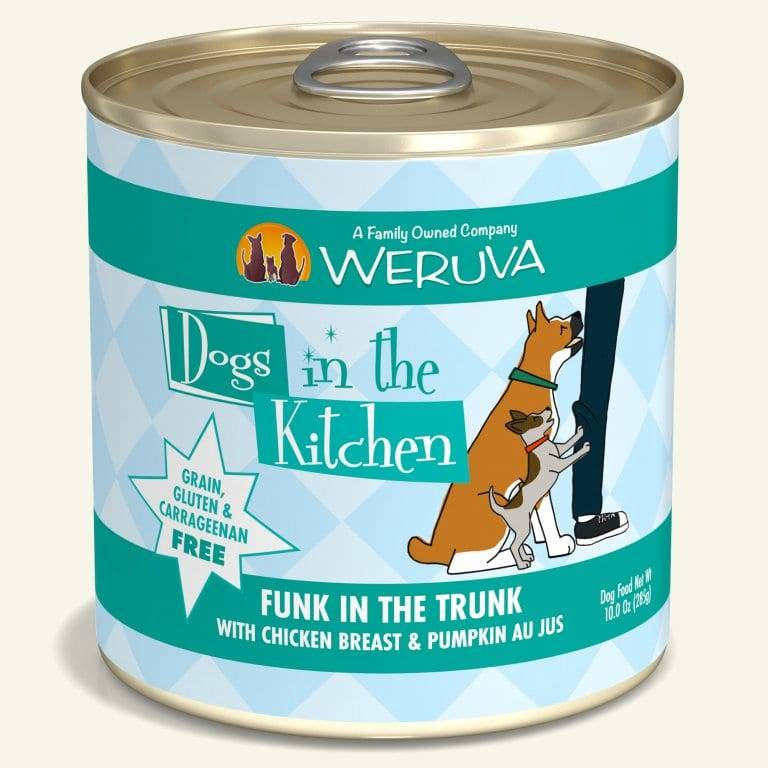 Weruva Weruva Dogs in the Kitchen Funk in the Trunk with Chicken & Pumpkin Canned Dog Food, 10 oz can