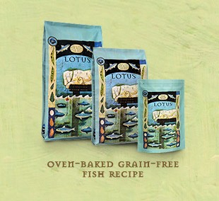 Lotus Lotus Oven Baked Grain-Free Fish Recipe Dry Dog Food