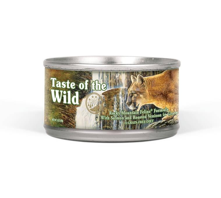 Taste of the Wild Taste of the Wild Rocky Mountain Feline Formula, 5.5 oz can